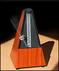 Practise guitar with a metronome