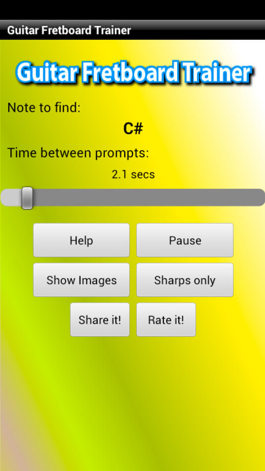 Guitar fretboard trainer android app 11-6