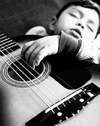 Are my hands too small to play guitar - child