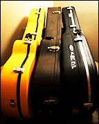 Guitar practice guitar case