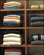 Clothes folded