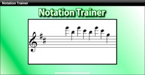 Notation trainer Android app