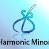 harmonic minor scale three notes per string