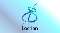 Locrian scale CAGED shape