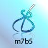 m7b5 arpeggios CAGED