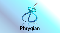 Phrygian scale CAGED shape