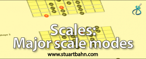 major scale modes