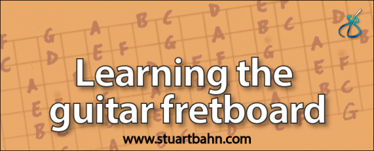 learning the guitar fretboard article stuart bahn. Black Bedroom Furniture Sets. Home Design Ideas
