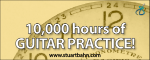 10000 hours of guitar practice