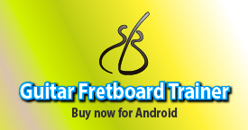 Guitar Fretboard Trainer Android App