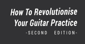 Guitar practice ebook window
