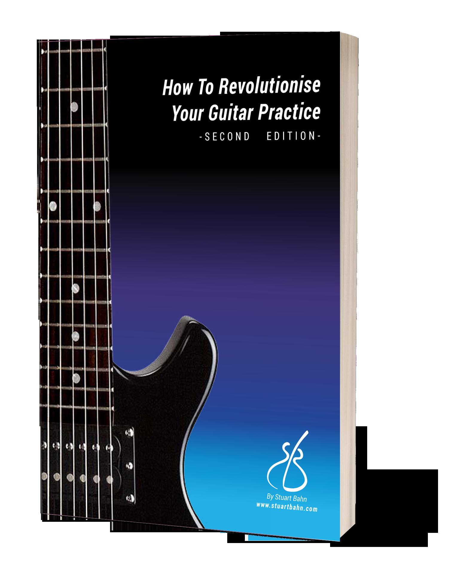 Guitar practice ebook