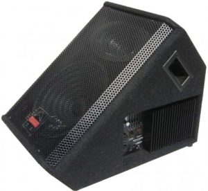 Powered stage monitor
