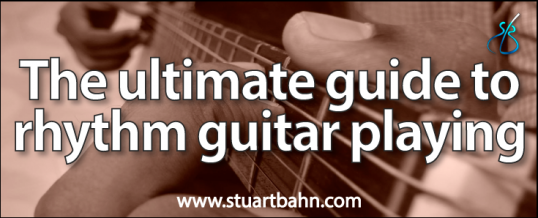 The ultimate guide to rhythm guitar playing